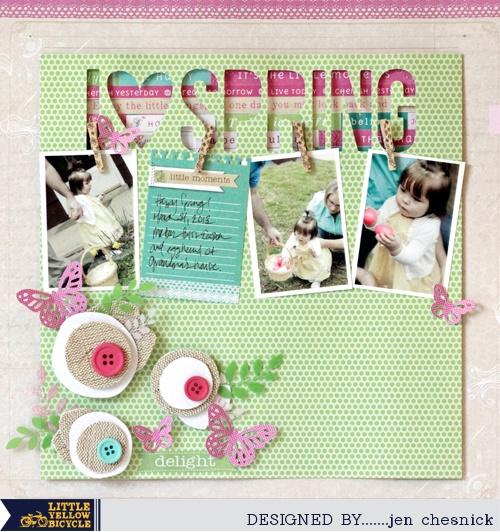 I Love Spring *MYLYB* - Scrapbook.com