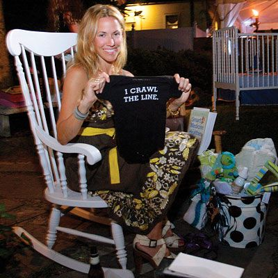 Sheryl Crow's baby shower offered a unique mix of fun and functional baby must-have's