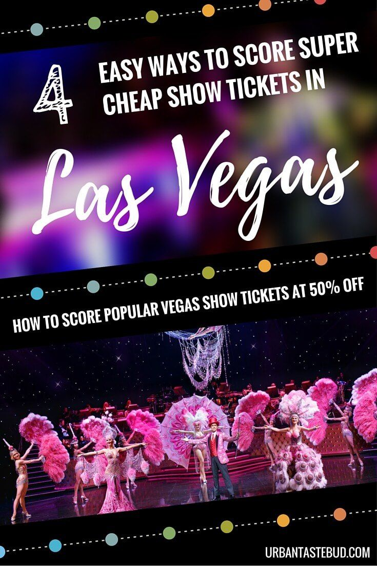 The Best Cheap Las Vegas Show Discounts and Deals