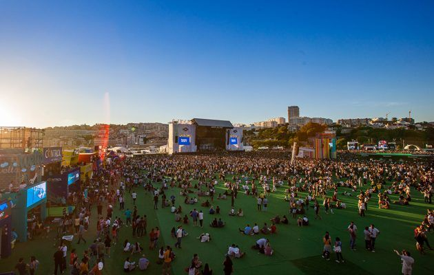 "NOS ALIVE, Lisbon, Portugal is one of thge ""Europe's best summer music festivals for 2017"" 