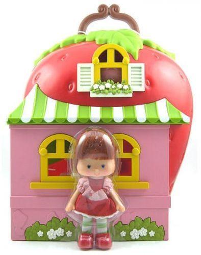 Strawberry Shortcake 146102: Strawberry Shortcake House Playset Retro Berry Happy Home Custard Kid S 80 S -> BUY IT NOW ONLY: $44.79 on eBay!