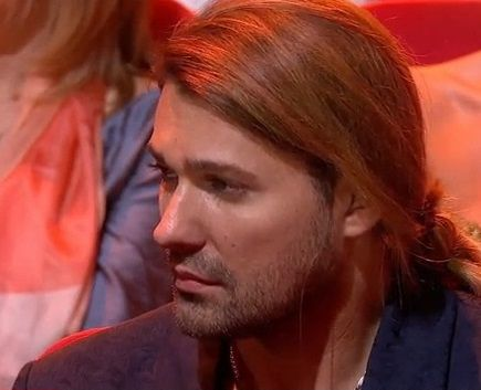 David Garrett...   not always smiling :(  just a man....