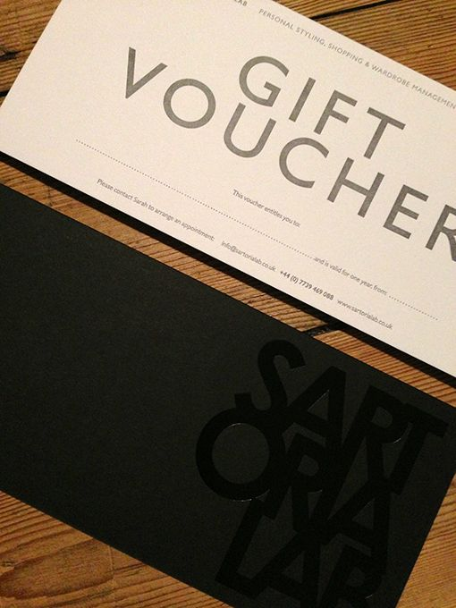 Christmas gift ideas for men - Sartoria Lab gift voucher for Colour & Style Consultation £150
