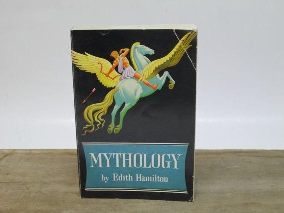 Mythology by Edith Hamilton Paperback Book by FolkOfTheWoodCrafts, $10.00