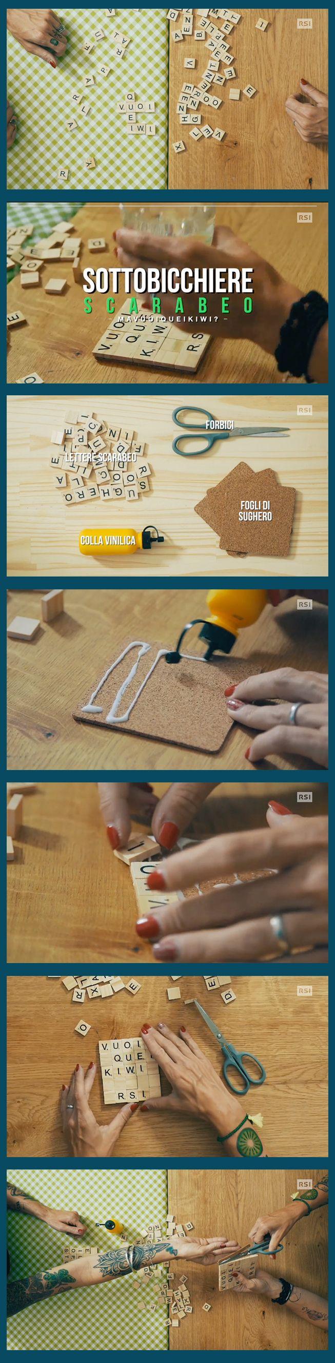Orizzontale o verticale? Anagramma i tasselli dello scarabeo e crea i tuoi sottobicchieri personalizzati    www.rsi.ch/kiwi https://www.facebook.com/RSIvuoiqueikiwi/ https://www.youtube.com/channel/UCY-Ge3XwDLKSweZ6gJzwQaA