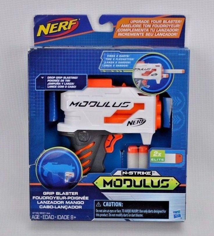 New Nerf N-Strike Modulus Grip Blaster Toy Attachment (Discontinued) Dart Gun