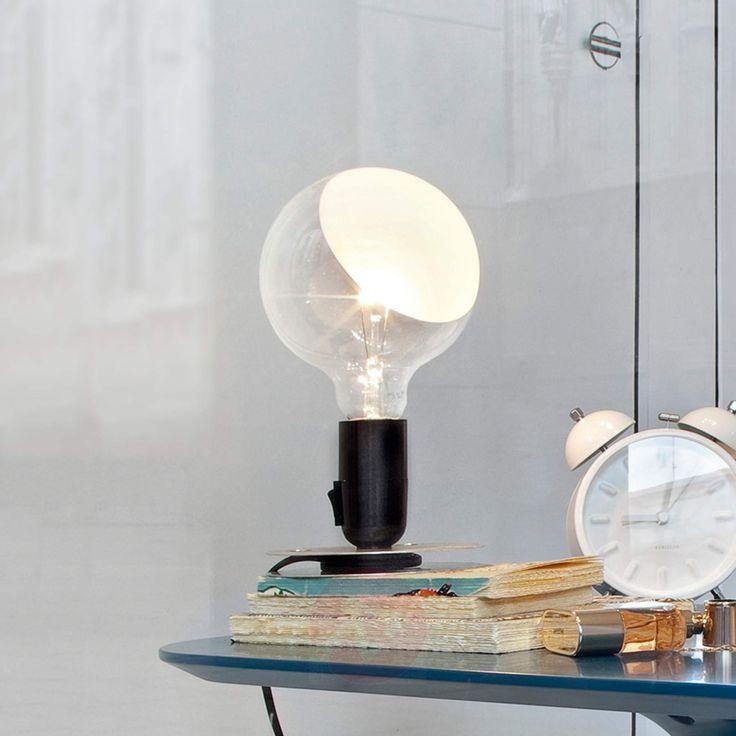 AFFILIATELINK   FLOS Lampadina LED Designer Tischlampe Skandinavisch, Design, …   – Lampen   Hängelampen, Schreibtisch, Esstisch und mehr