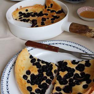 Nieuw #ontheblog ovenbaked #pancake met blauwe bessen #healthy #healthyfood #healthybreakfast #sunday #breakfast #gezond #gezondkoken #gezondeten #puur #puureten #potd #instafood #food #fitgirls #8weekstohotpants #8weeks #workout #fitlife #fitdutchie