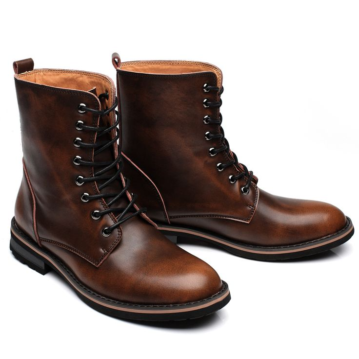 Bota Masculina Men Western Boots Wine Red Chaussure Homme Bota Masculina Cowboy Boots Mens Western Boots Fashion Chelsea Botas