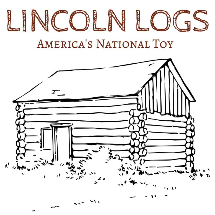 how to build lincoln log general store