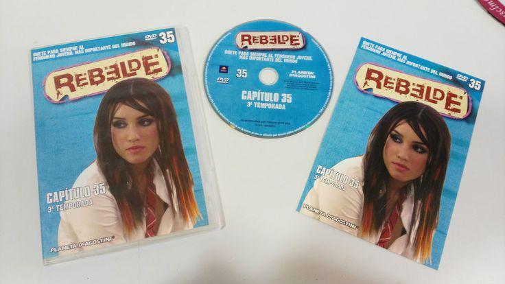 RBD - REBELDE TEMPORADA 3 CAPITULO 35 + EXTRAS DVD SPANISH EDITION UNICO EBAY!!!