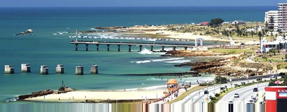 Port Elizabeth on a beautiful sunny day