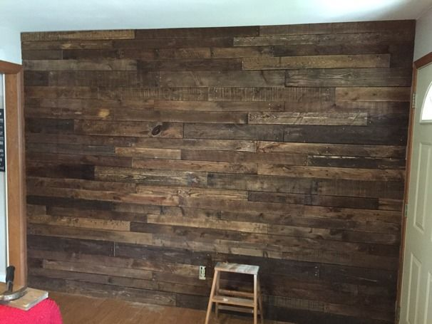 Pallet wall - maybe for back wall of living room