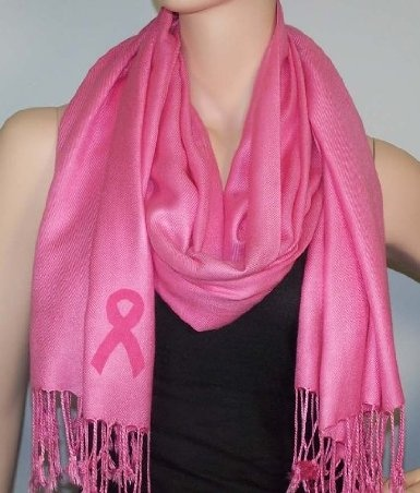 Amazon.com: Breast Cancer Pashmina: Clothing