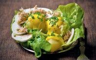 Arôme subtil, saveur délicate et ingrédients de choix font de cette salade une merveille culinaire. À essayer coûte que coûte !