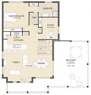 27 Best Reverse Living House Designs Australia Images On