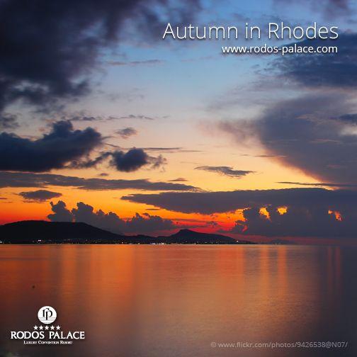 True magic no matter the season!  www.rodos-palace.com #rodos #rhodes #rodospalace #greece #greekislands