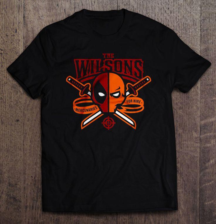 The Wilsons Mercenaries For Hire T Shirt