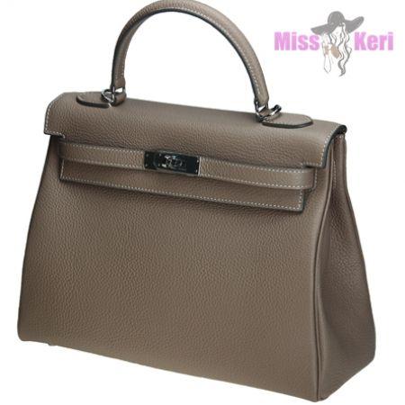 Сумка Hermes Kelly серого цвета купить, цена, интернет-магазин, отзывы