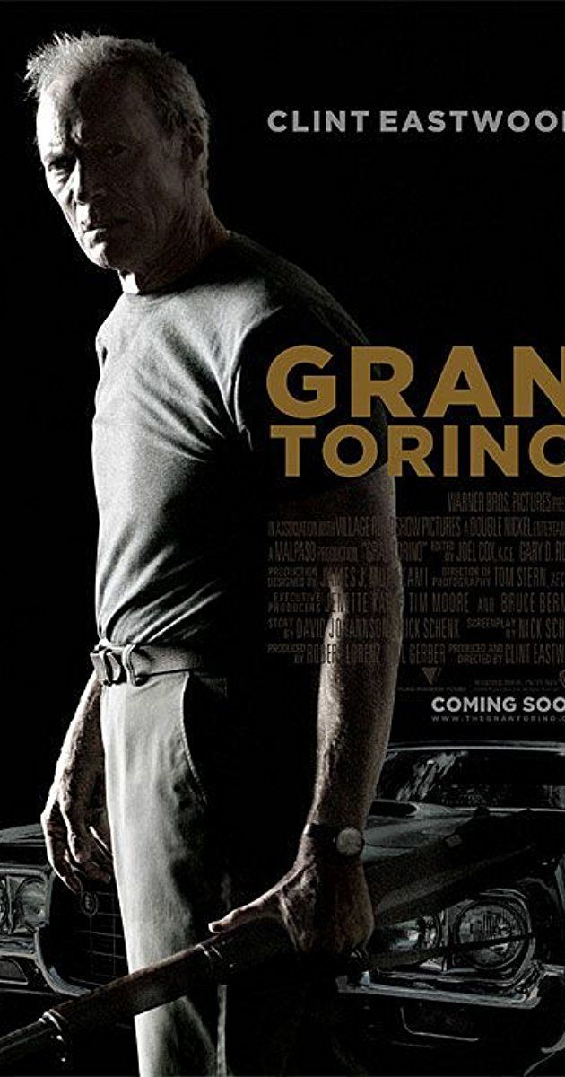 Directed by Clint Eastwood.  With Clint Eastwood, Bee Vang, Christopher Carley, Ahney Her. Disgruntled Korean War veteran Walt Kowalski sets out to reform his neighbor, a Hmong teenager who tried to steal Kowalski's prized possession: a 1972 Gran Torino.