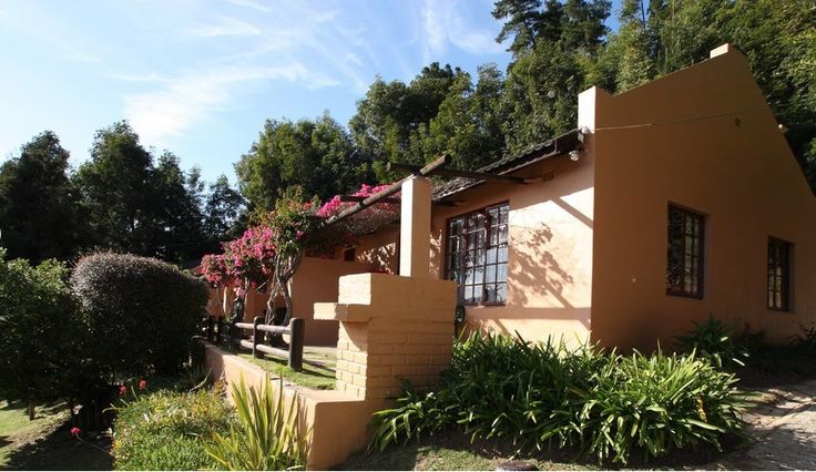 Knysna Chalets close to Knysna. 4-Sleeper self-catering chalets each with their own private braai area.
