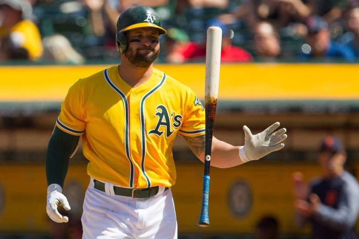 YONDER ALONSO, 1B  -  A former top prospect in Cincinnati, Alonso set a career high in home runs this year by mid-May. He's well on his way to a career year with a .271-12-29 line in the middle of the Oakland batting order. -  Previewing 2017-18 MLB free agent class  -  May 24, 2017
