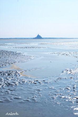 Traversée de la baie du Mont-Saint-Michel ©Anlorh