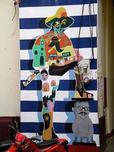 48 best nicaragua nicaraguense images on pinterest for Mural nicaraguense