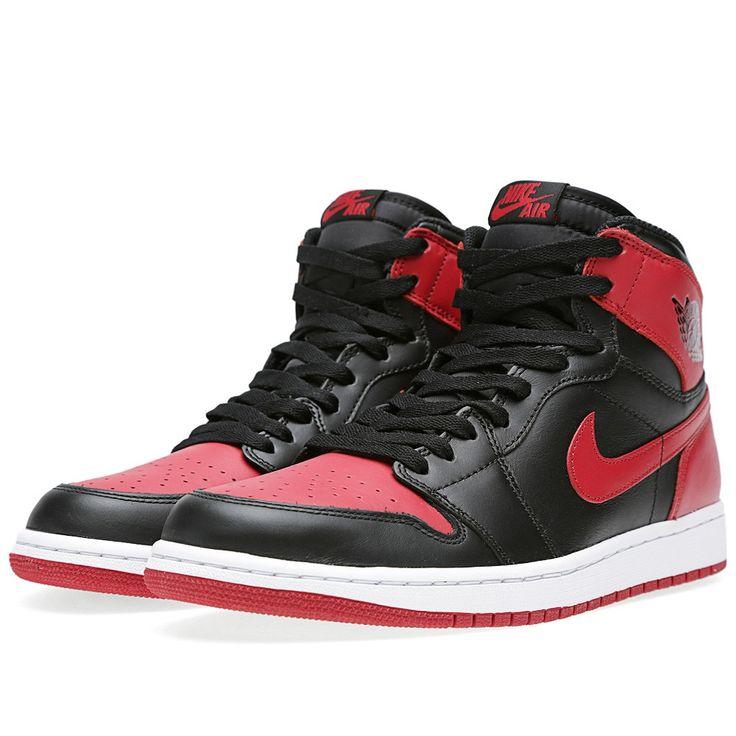 the best attitude 0071a 663c7 ... KO Hi White Red A01018 Nike, Air Jordan 1 Retro Bred (Red) ...