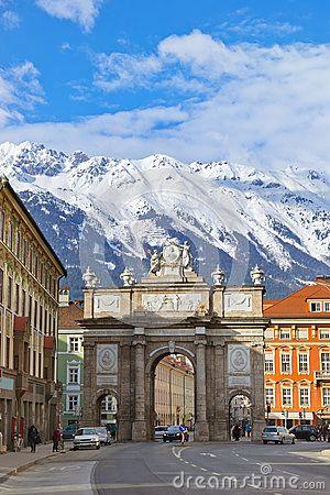 Triumph Arch - Innsbruck Austria `