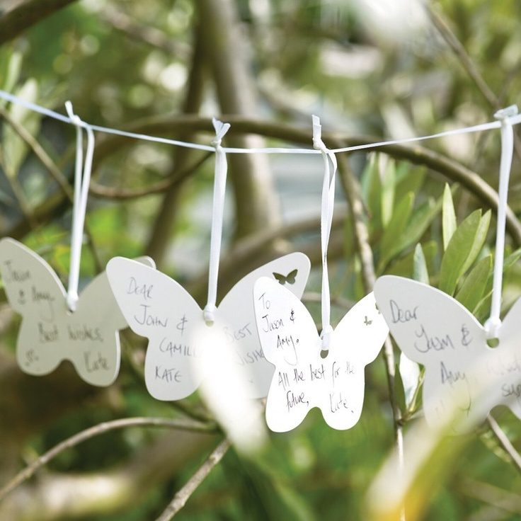 Butterfly Wedding Wishes