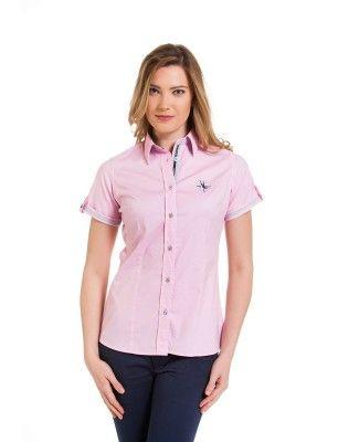 Giorgio di mare camisa manga corta | rosa