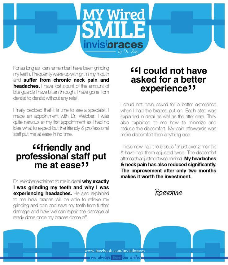 Invisibraces by Dr. Zieg #Orthodontist www.facebook.com/invisibraces
