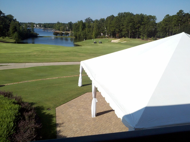 View From Balcony At The Penninsula Club Lake Norman NC Thepeninsulaclub NormanWedding VenuesBalconyWedding Reception