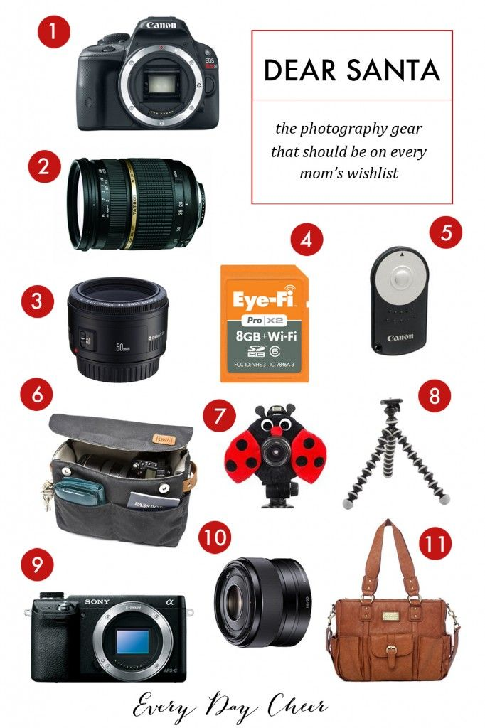 Camera gear that should be on every mom's wishlist - http://jennycollier.com/?p=10103