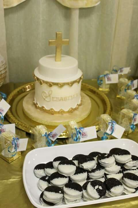 Cake of my son christening.