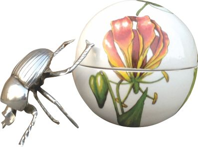 Dung Beetle Flame Lilly - Large Ball - ZAR3400.00