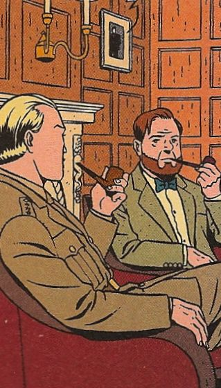 Blake & Mortimer, crée par le dessinateur belge Edgar P. Jacobs