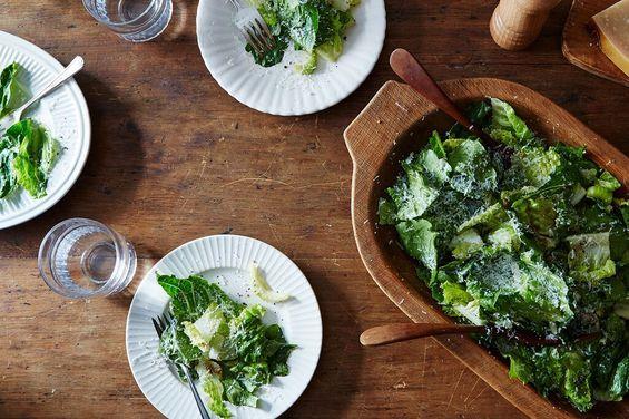 A Genius Caesar Salad from a Genius Dad -Allen Miglore's Caesar Salad, a recipe on Food52