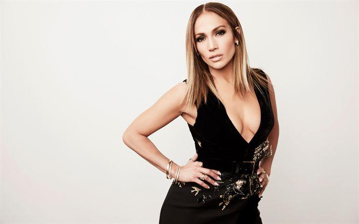 Descargar fondos de pantalla Jennifer López, superestrellas, cantante estadounidense, J-Lo, Hollywood, hermosa mujer