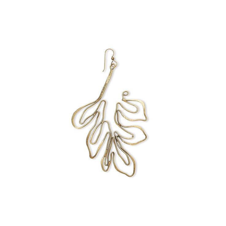 <p>The Small Leaf Earring from <strong>Rosie Assoulin </strong>(single). </p><p>Brass.</p><p>Expected Delivery Date: Mid March</p>