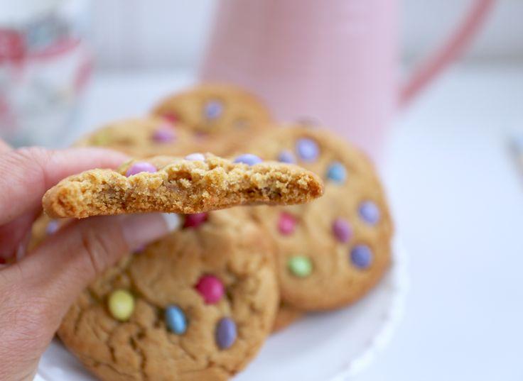 amerikanska cookies med nonstop