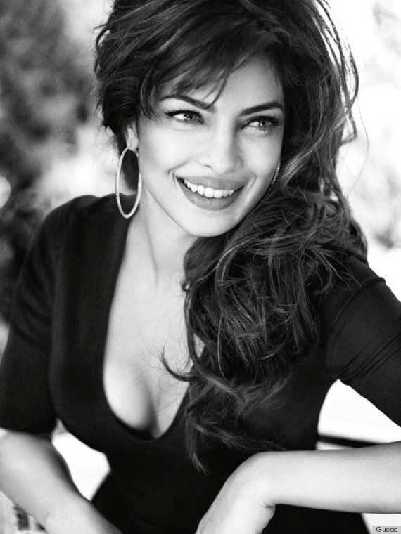 Priyanka Chopra's Hot and Stylish Photoshoot for Guess's new advertising campaign.