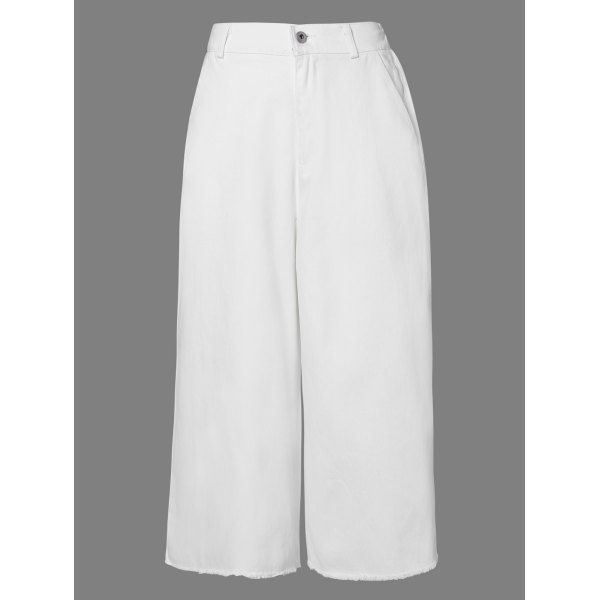 18.57$  Watch now - http://dicva.justgood.pw/go.php?t=183477002 - Casual Women's Solid Color Capri Palazzo Pants 18.57$