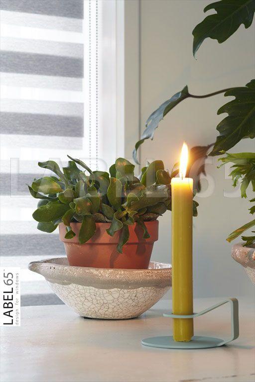 Duo rolgordijnen van Label 65 geven extra sfeer in huis en geven u weer een huiselijk gevoel!