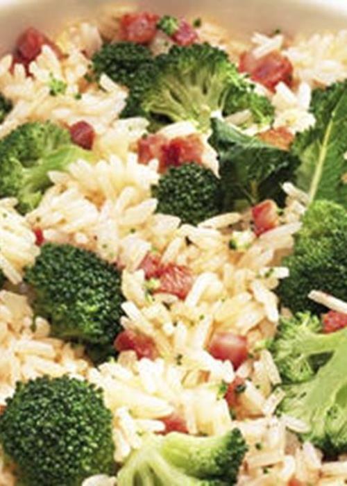 Arroz de Brócolos eu adoro brócolis - hummmmm