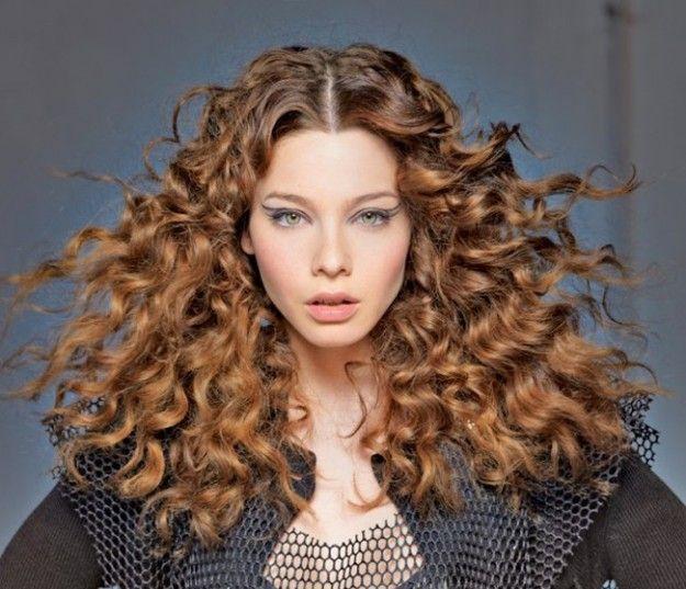 Tagli di capelli ricci per l'inverno 2015