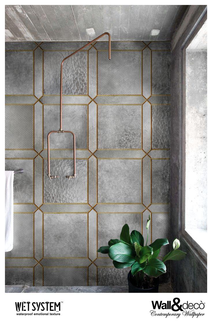 Nouveau  www.wallanddeco.com  #wallpaper, #wallcovering, #wetsystem