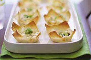 Pastelitos de cangrejo al horno Receta - Comida Kraft