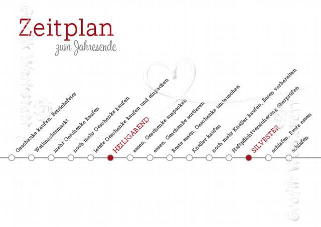 Zeitplan zum jahresende grafik werkstatt bielefeld for Digitale weihnachtskarten gratis